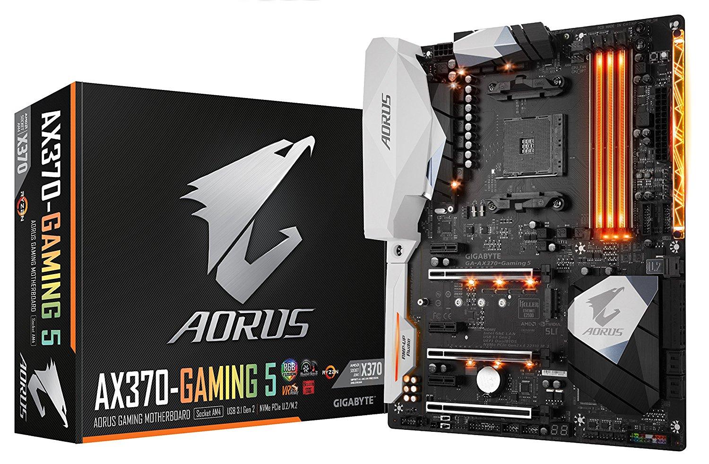 Gigabyte DDR4 Motherboard: Aorus GA-Z270X-Gaming K5 Intel $127.99, Aorus GA-AX370-Gaming 5 AMD $124.79 + Free Shipping via Amazon