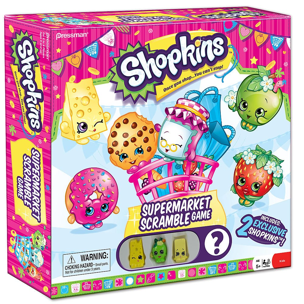 Family Board Games: Shopkins Supermarket Scramble, Connect 4, Paw Patrol Look A Likes Matching Board Game $4.99 Each + Free In-Store Pickup via Kmart