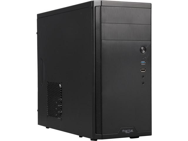 Fractal Design Core 1100 microATX Mini Tower Case (Black) $23.99 AR + Free Shipping via Newegg