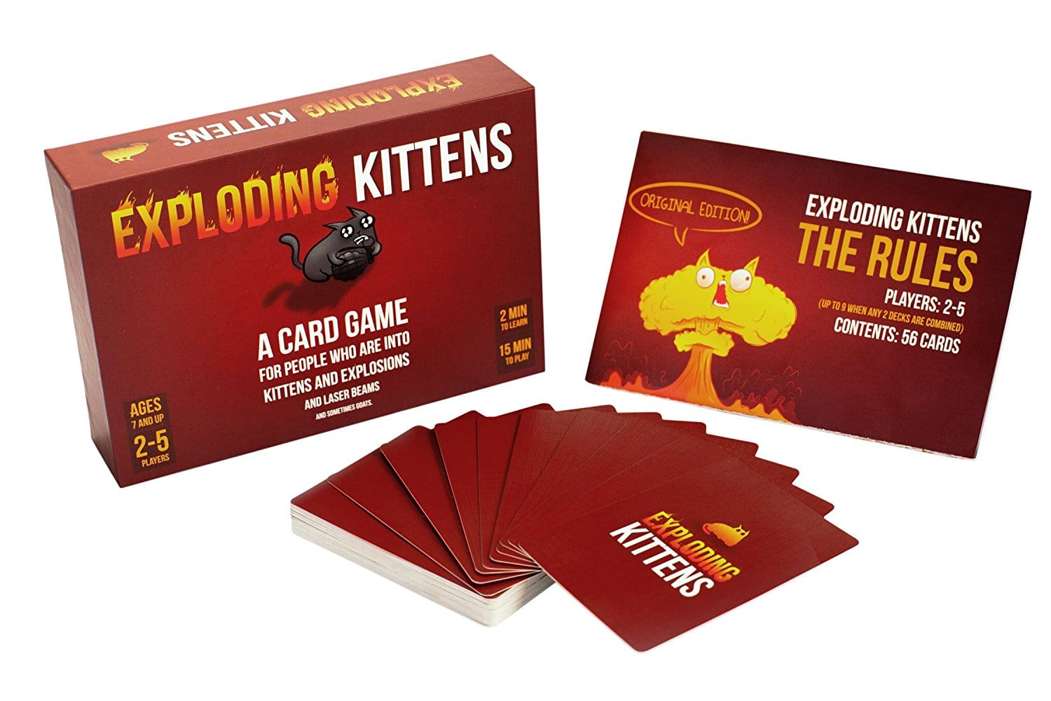 Exploding Kittens: A Card Game About Kittens and Explosions and Sometimes Goats $9.99 + $5 Flat-Rate S/H via Woot