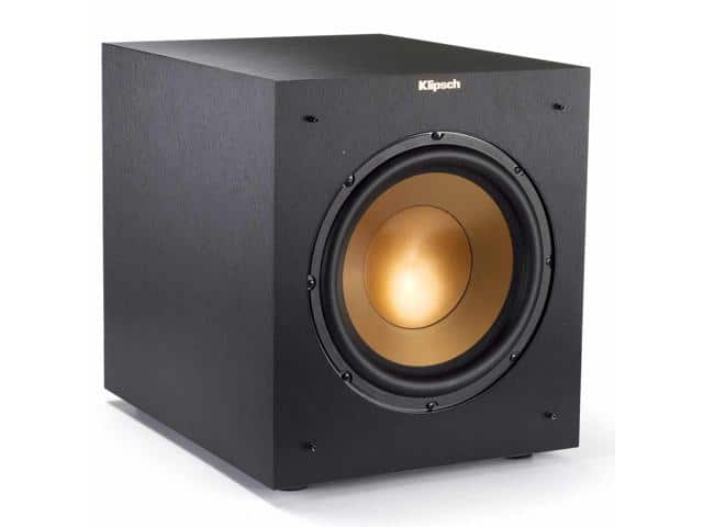 "Klipsch R-10SWi 10"" 300W Wireless Subwoofer (Black) + $1 Donation Filler $175 + Free Shipping w/ MasterPass Checkout via Newegg"