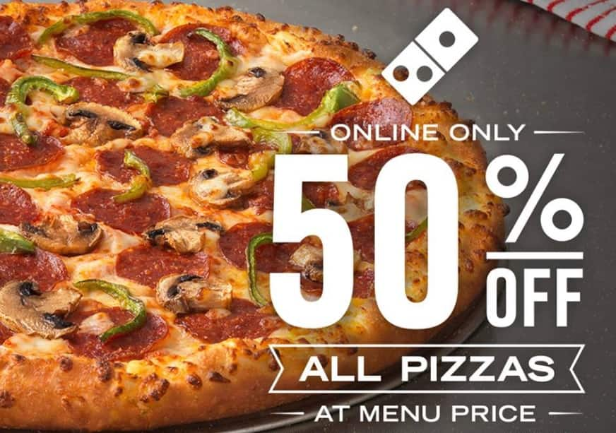 Domino's Pizza Discount Vouchers and Promo Codes
