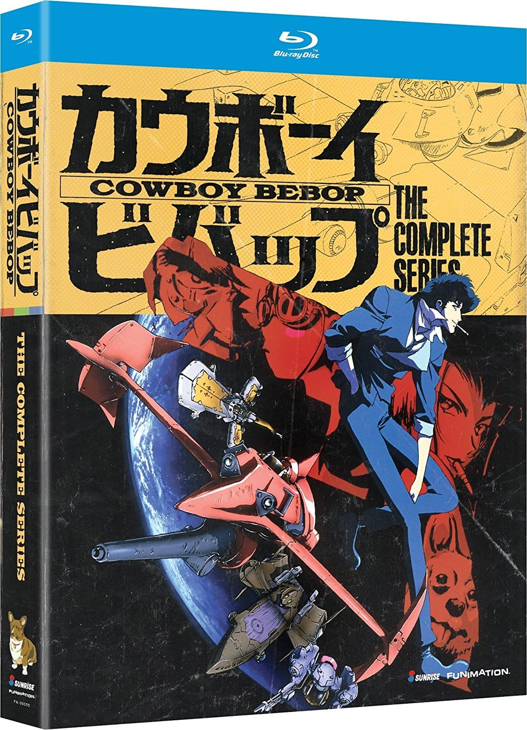 Anime Blu-Ray Movies:  Cowboy Bebop: The Complete Series $19.99, Black Butler: Book of Murder OVA's $14.99, Evangelion: 2.22 You Can $10.49 & Many More via Amazon