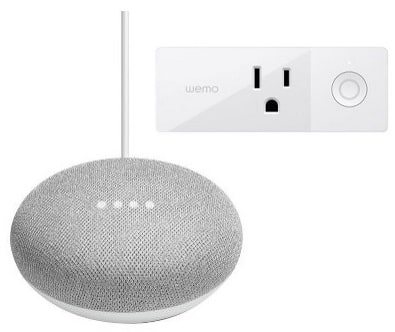 Wemo Mini Smart WiFi Outlet Plug Google Home