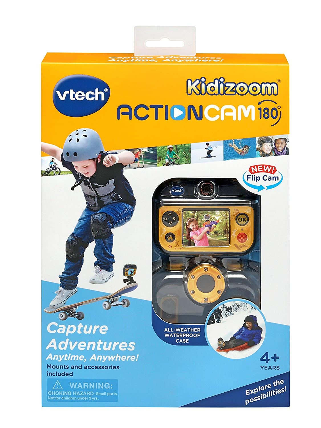VTech Kidizoom Action Camera w/ 180° Rotatable Camera w/ Accessories $19.99 via Amazon