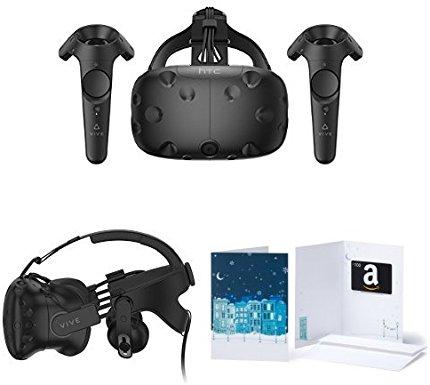 e27d5b0e1e3 HTC VIVE Virtual Reality System + Deluxe Audio Strap +  100 Gift ...
