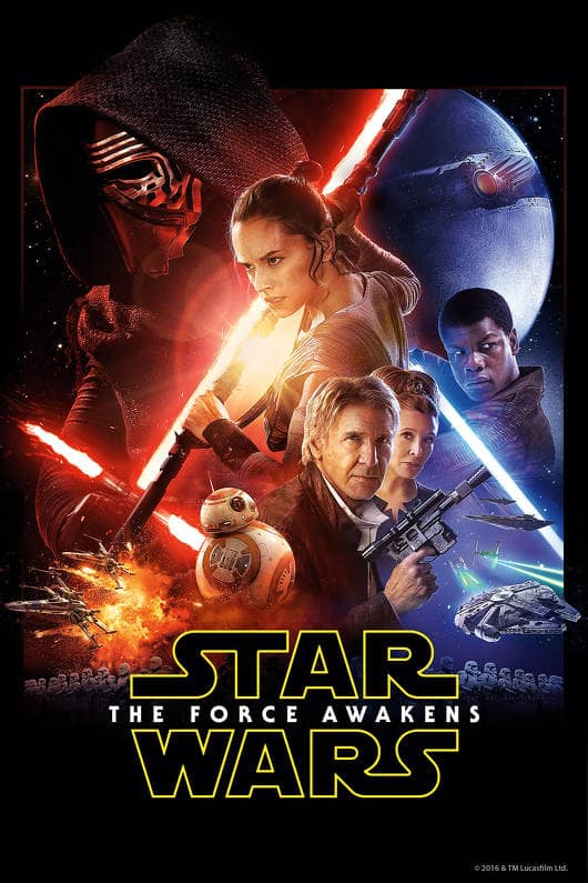 Star Wars: The Force Awakens w/ Bonus Content (Digital HD) $7.99 via FandangoNow