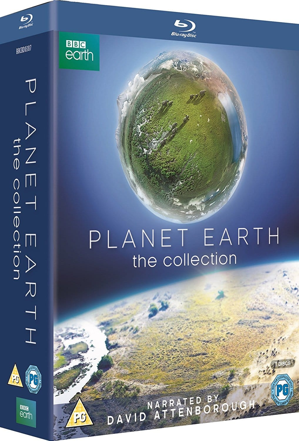 Planet Earth: The Collection: Planet Earth I + II: Narrated by Sir David Attenborough (Region Free Blu-Ray) ~$21.12 Shipped via Amazon.co.uk