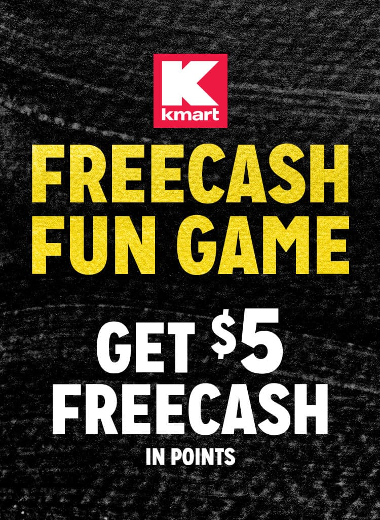 Shop your way members 5 in kmart surprise points slickdeals deal image reheart Image collections