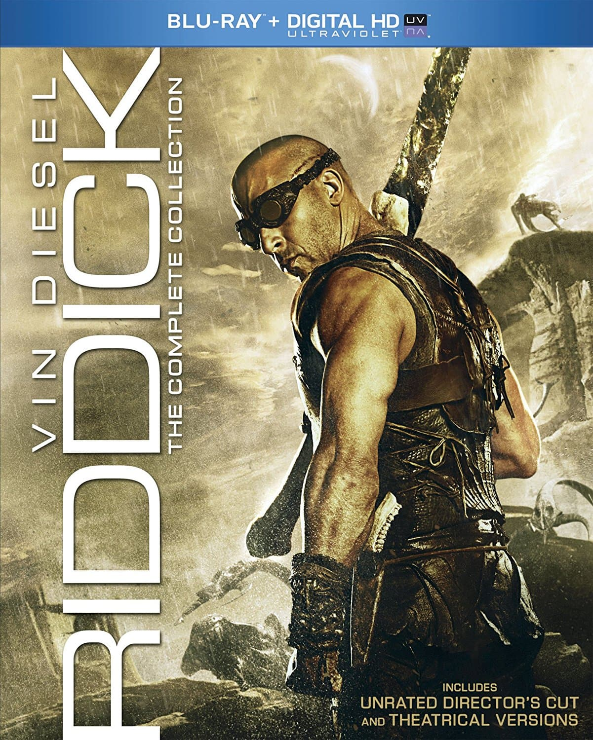 Riddick: The Complete Collection (Blu-Ray + Digital HD) $13.99 via Amazon