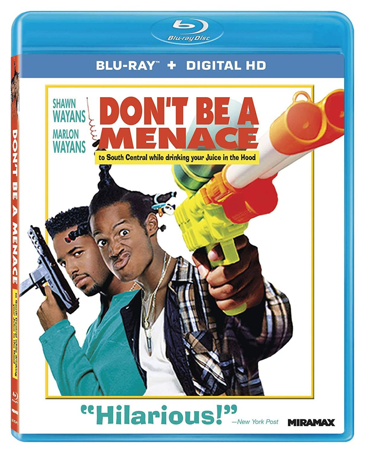 Don't Be a Menace to South Central While Drinking (Blu-Ray + Digital HD) $5.36 via Amazon
