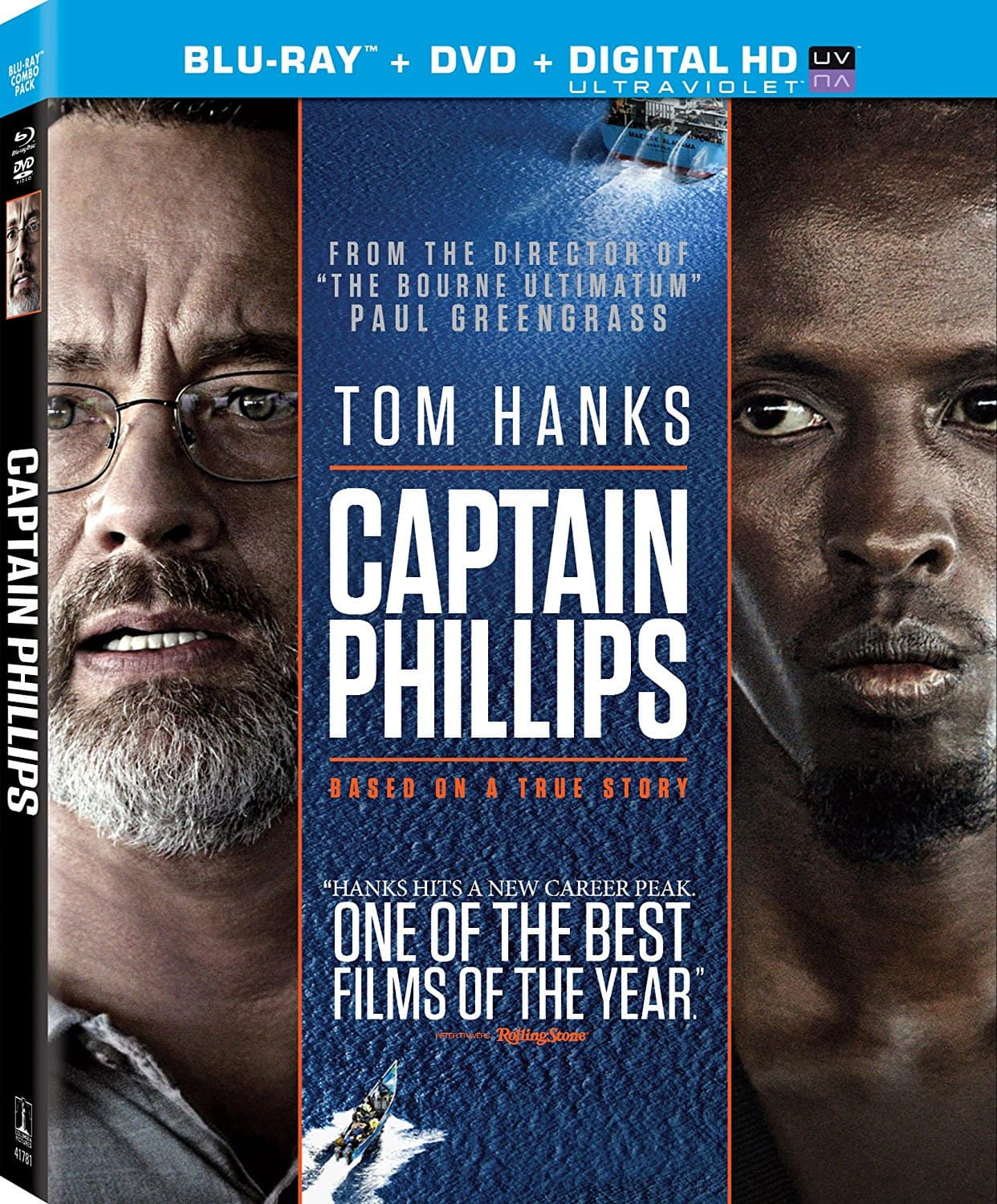 Captain Phillips (Blu-Ray + DVD + UV Digital) or Stand by Me: 25th Anniversary Edition (Blu-Ray) $4.99 via Amazon