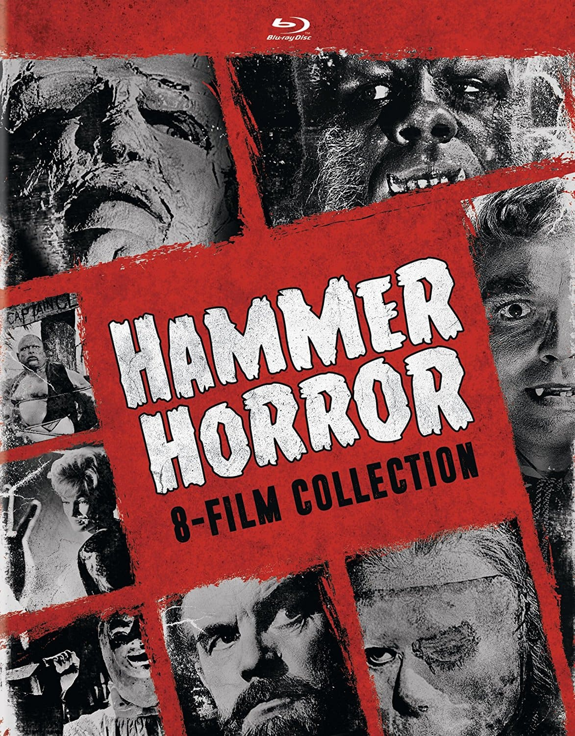 Hammer Horror 8-Film Box Set Collection: Brides of Dracula, Night Creatures, The Evil of Dr. Frankenstein, Phantom of the Opera (Blu-Ray) $17.49 via Amazon $17.48