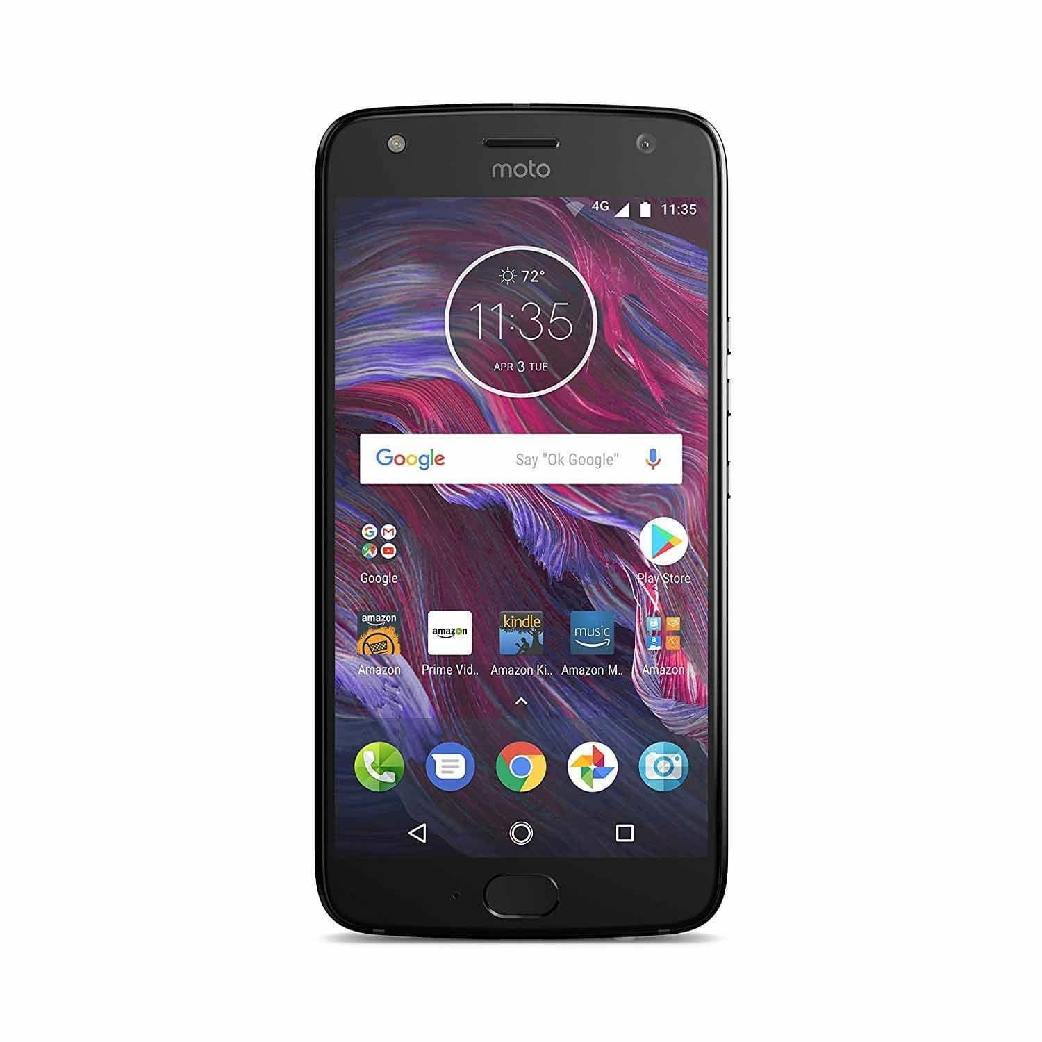 32GB Moto X (4th Gen) Unlocked Smartphone w/ Hands Free Amazon Alexa (Black or Blue) $249.99 + Free Shipping for Amazon Prime Members