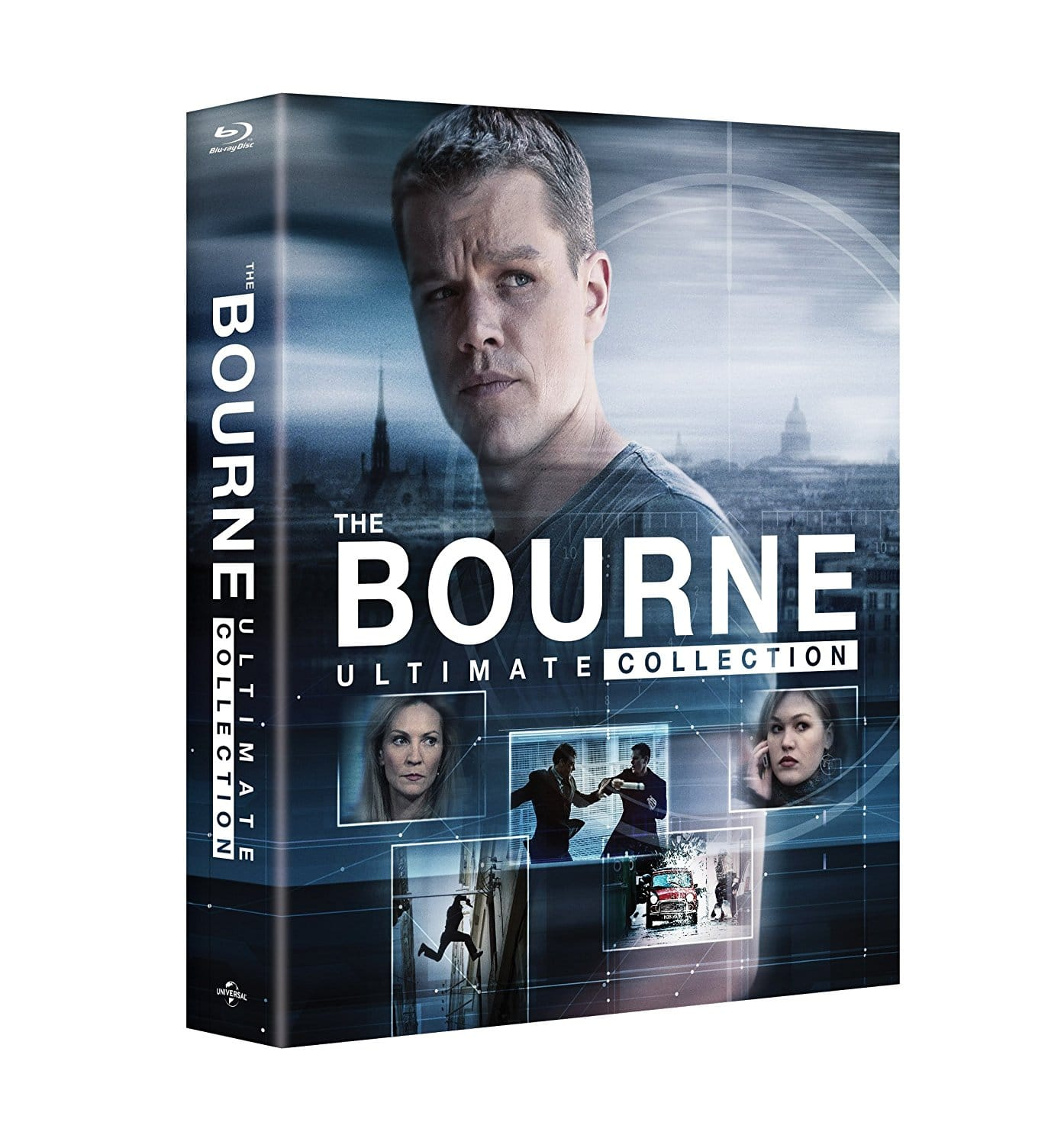 The Bourne Ultimate Collection (Blu-Ray) $19.99 w/ Fry's Friday 2/23 Promo Code + Free In-Store Pickup