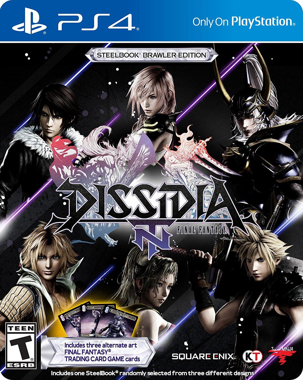 Dissidia Final Fantasy NT Steelbook Brawler Edition or Standard Edition (PS4) $39.99 + Free Shipping via Amazon