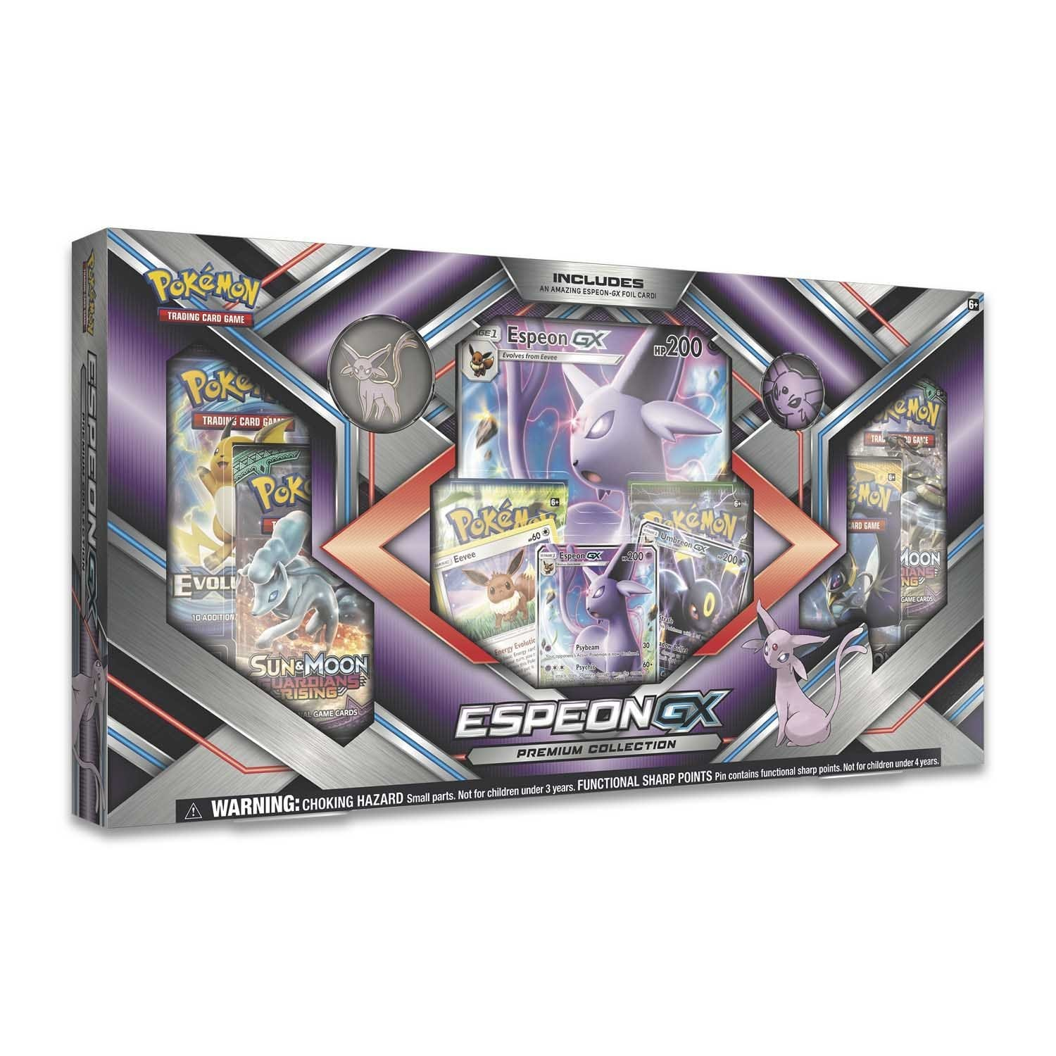 Pokemon Trading Card Game: Espeon-GX or Umbreon-GX Premium Collection Box Set (Chosen at Random) $9.99