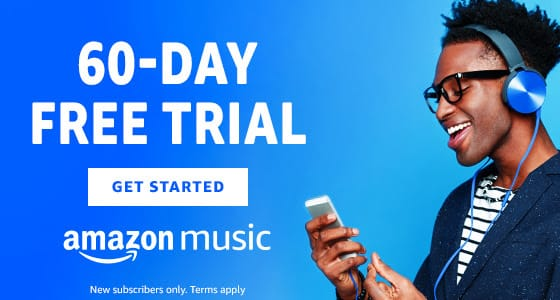 60-Days Amazon Music Unlimited Trial Subscription (New Subscribers/Customers) for Free via Amazon