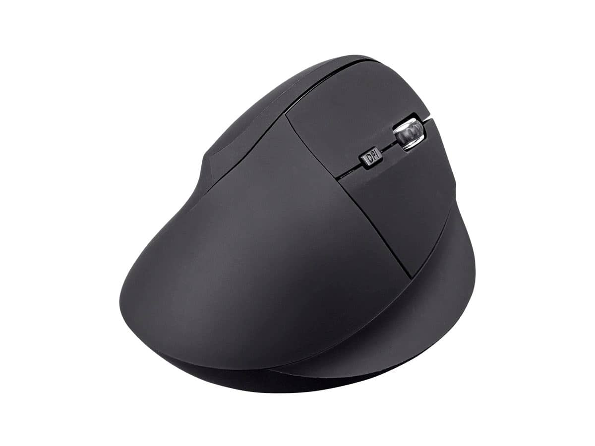Monoprice Ergonomic USB Optical Mouse (Soft Touch Black): Wireless $12.99 or Wired $8.99 + Free Shipping via Monoprice
