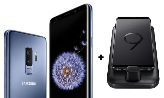 64GB Samsung Galaxy Smartphone + DeX Pad (AT&T): S9+ $640