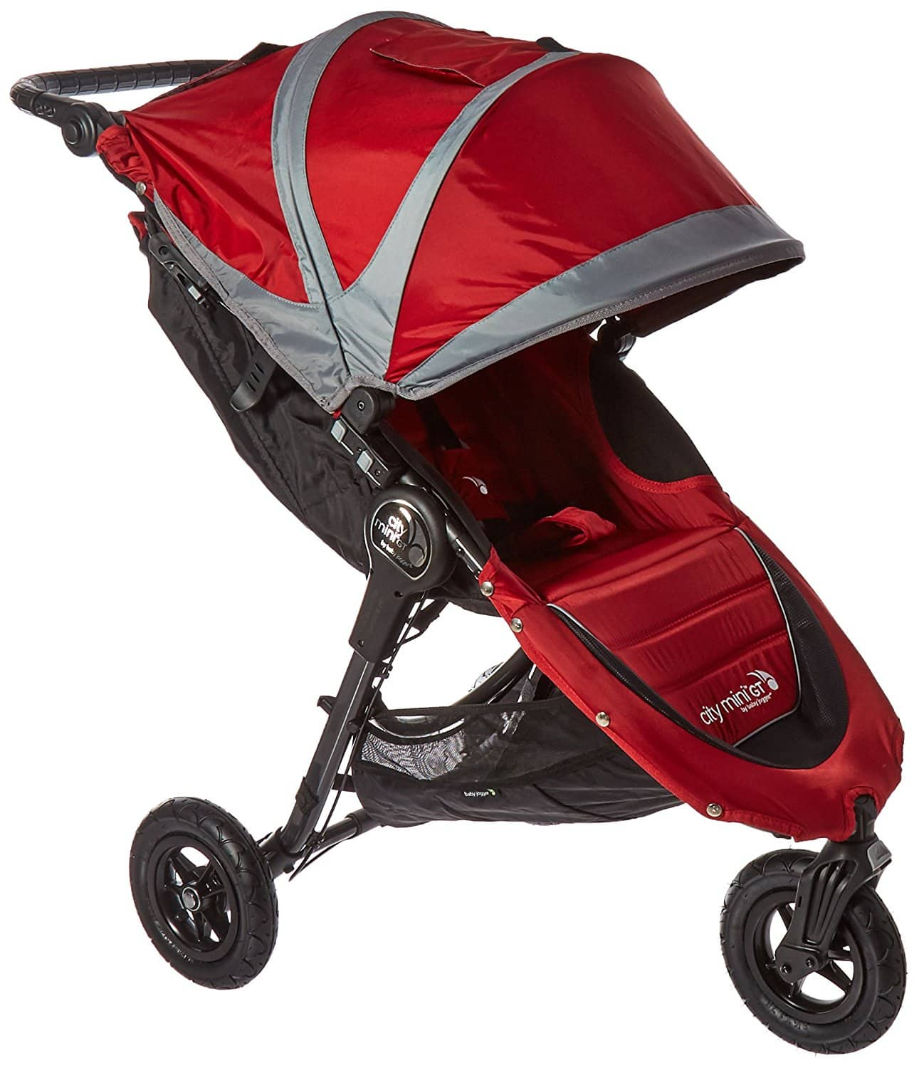 Baby Jogger 2016 City Mini Gt Single Stroller Crimson Gray Page