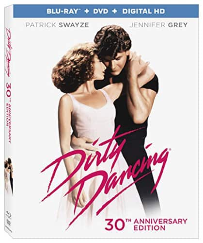 Dirty Dancing: 30th Anniversary (Blu-Ray + DVD + Digital HD) $7.58 via Amazon