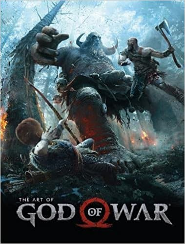 The Art of God of War (Hardcover Book) $23.99 via Amazon