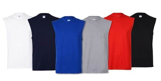 5-Pack Russell Sleeveless Tees (Assorted Colors; various sizes) $14.99 + Free Shipping w/ Prime via Woot