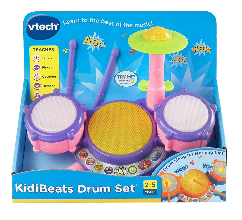 Vtech Kidibeats Toy Drum Set Pink Page 2 Slickdeals Net