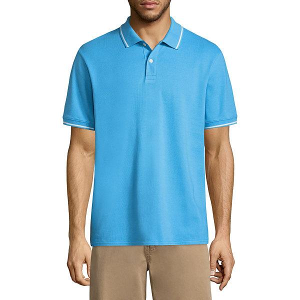 8bda11a5c09 St. John's Bay Short Sleeve Pique Polo Shirt - Slickdeals.net