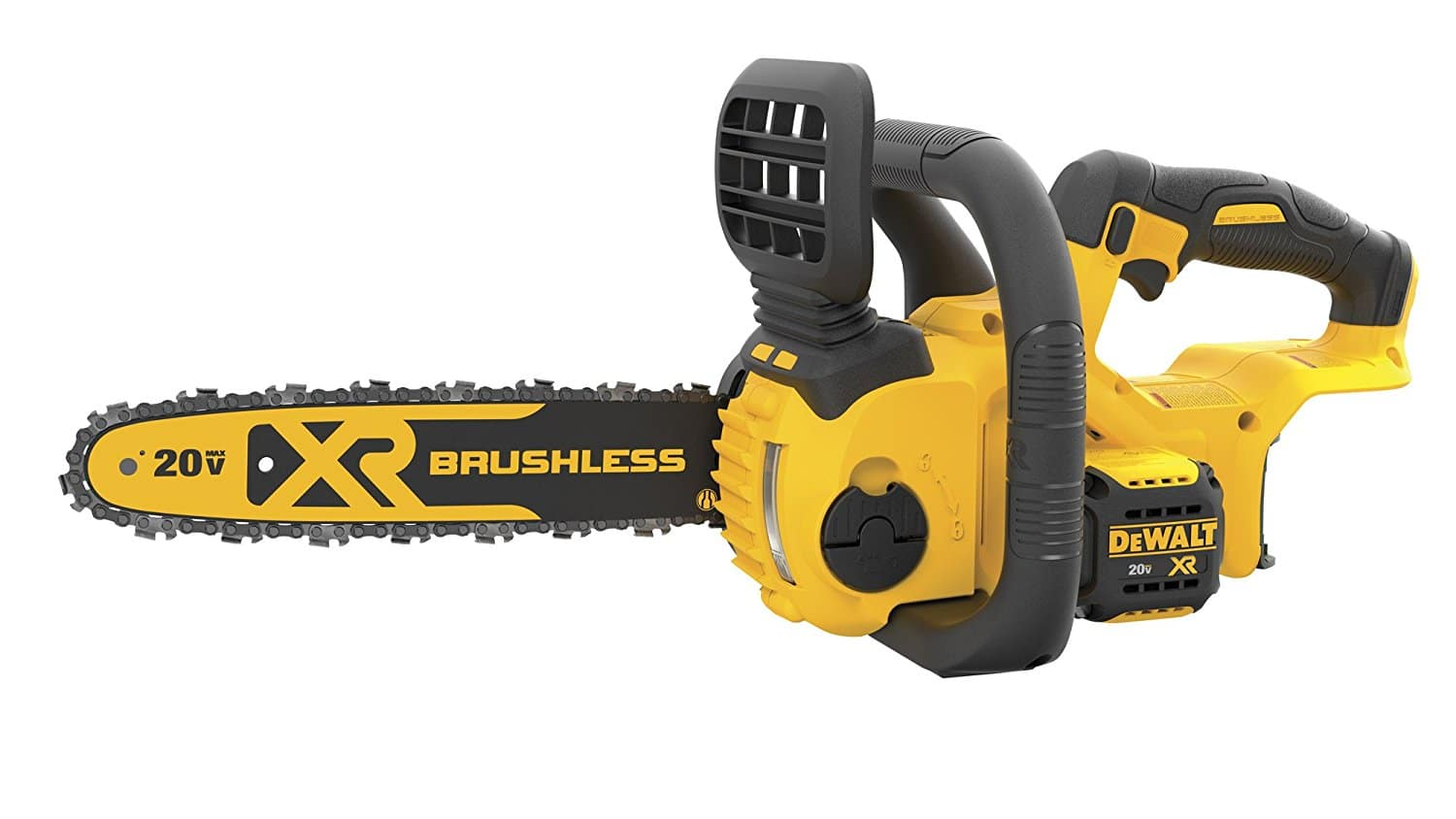 Dewalt 20v max compact chainsaw w brushless motor bare for Dewalt 20v brushless motor