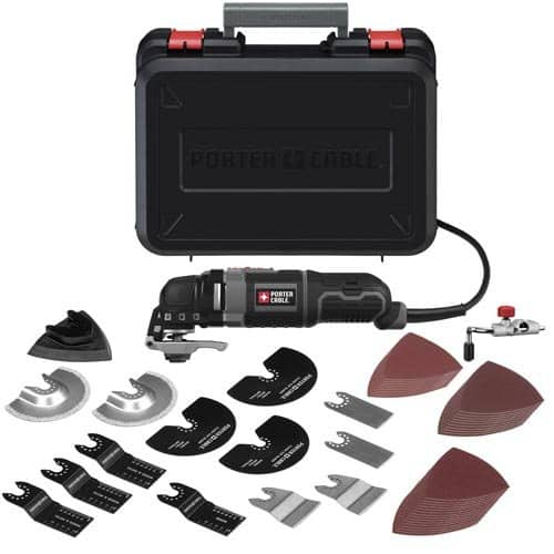 Porter Cable 3-Amp Oscillating Multi-Tool Kit w/ 52 Accessories (PCE605K52) $74.99 + Free Shipping & More via Amazon