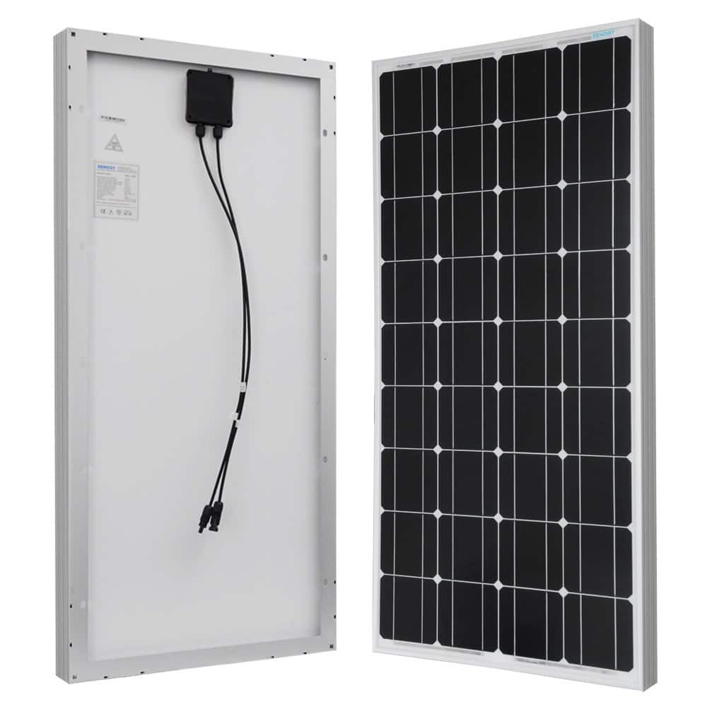 Renogy 100W 12 Volts Monocrystalline Solar Panel $99.80 + Free Shipping via Amazon