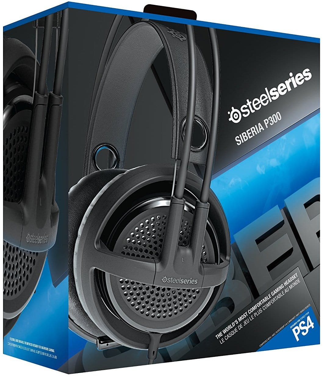SteelSeries Siberia P300 Gaming Headset for PS4 (Black) $31.95 + Free Shipping via Amazon