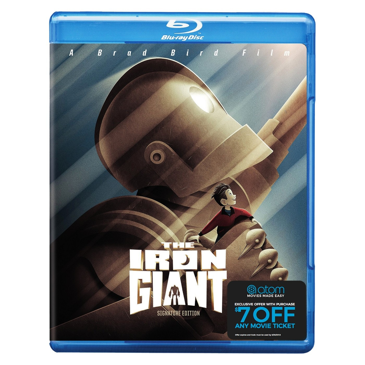 Target In-Stores Cartwheel Offer: The Iron Giant: Signature Edition, The Shining, Stephen King's It (Blu-Ray) + $7 Off Any Atom Movie Ticket $5.25 & More