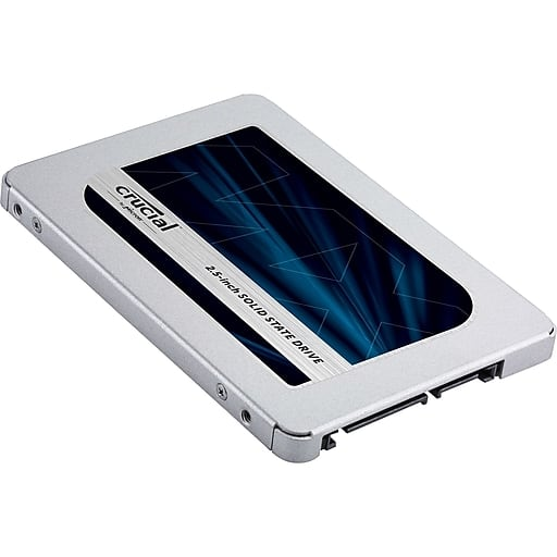 Crucial MX500 500 GB SSD 96$ at Staples $95.99
