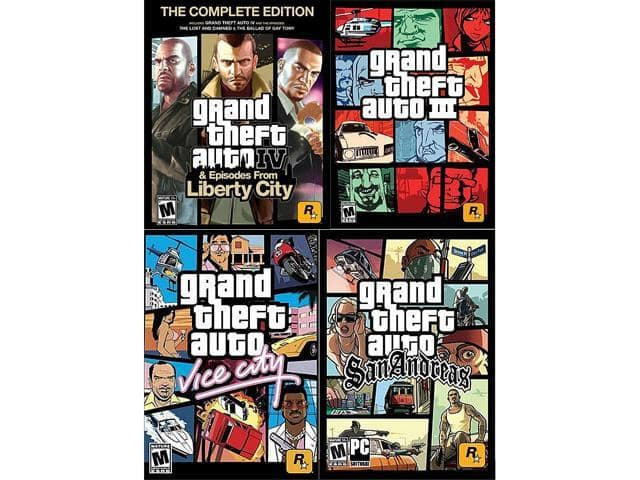 Gta vice city ps4 amazon | ELI5: Why hasn't GTA IV been re
