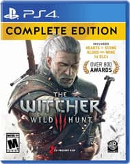 The Witcher III: Wild Hunt Complete Edition or Resident Evil 7: Biohazard Gold Edition (PS4 or Xbox One) $24.99 + Free In-Store Pickup