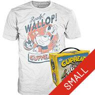 Select Graphic T-Shirts $4.99 Sale: POP! Tee: Cuphead Run Gun Fun, Cuphead and Mugman Jump, God of War Serpent, Rick & Morty Flesh Curtains T-Shirt & More + Free In-Store Pickup