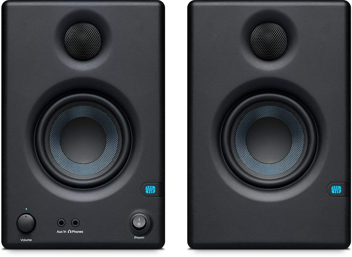 "PreSonus Eris E3.5-3.5"" Professional Multimedia Reference Monitors w/ Acoustic Tuning (Pair) $74.99 + Free Shipping for Amazon Prime Members"