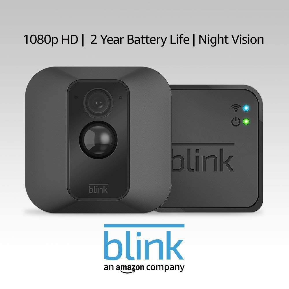 Blink XT Home Security Camera System: w/ 2 Camera Kit $139.99 or w/ 1 Camera Kit $75 + Free Shiping for Amazon Prime Members