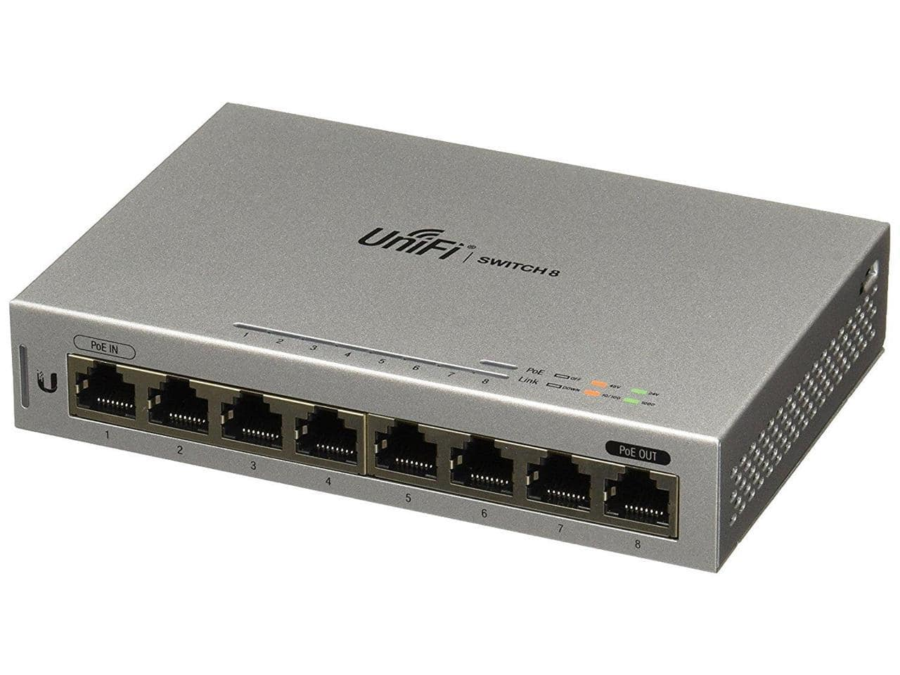8-Port Ubiquiti UniFi Gigabit Ethernet Managed Switch $79 + Free Shipping via Newegg