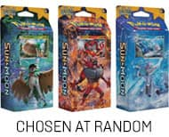 Pokemon Trading Card Game: Burning Shadows Theme Deck 2 for $9.73, Sun & Moon Theme Deck 2 for $8.23, Various Booster Pack 2 for $5.98