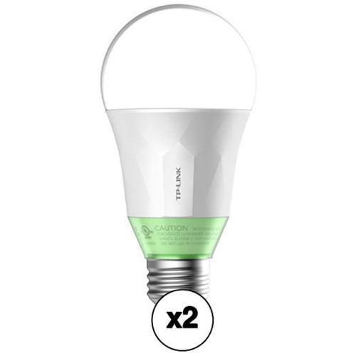 2-Pack TP-Link Kasa Smart LB110 WiFi LED 60W Light Bulb