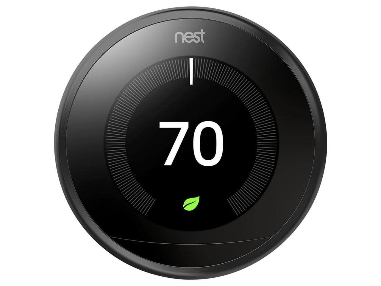 Nest Learning Thermostat in Black (3rd Generation) + $10 Newegg Gift Card $175 w/ MasterPass Checkout + Free Shipping via Newegg