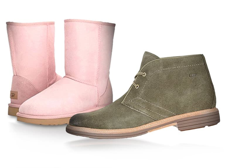 UGG Shoes (Men and Women) many styles below $50