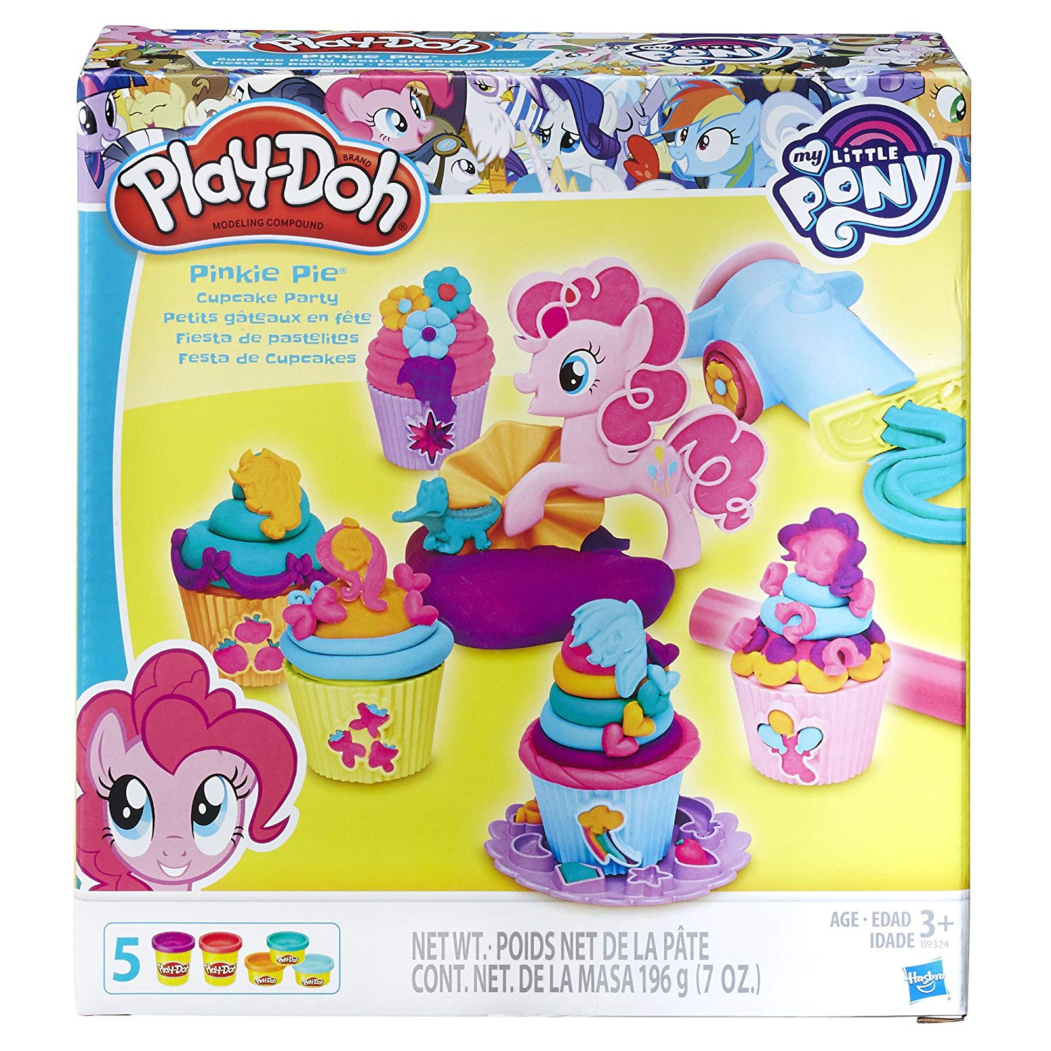 Play Doh Toys Up To 30 Off My Little Pony Pinkie Pie Cupcake Luggage Tag Deal Image