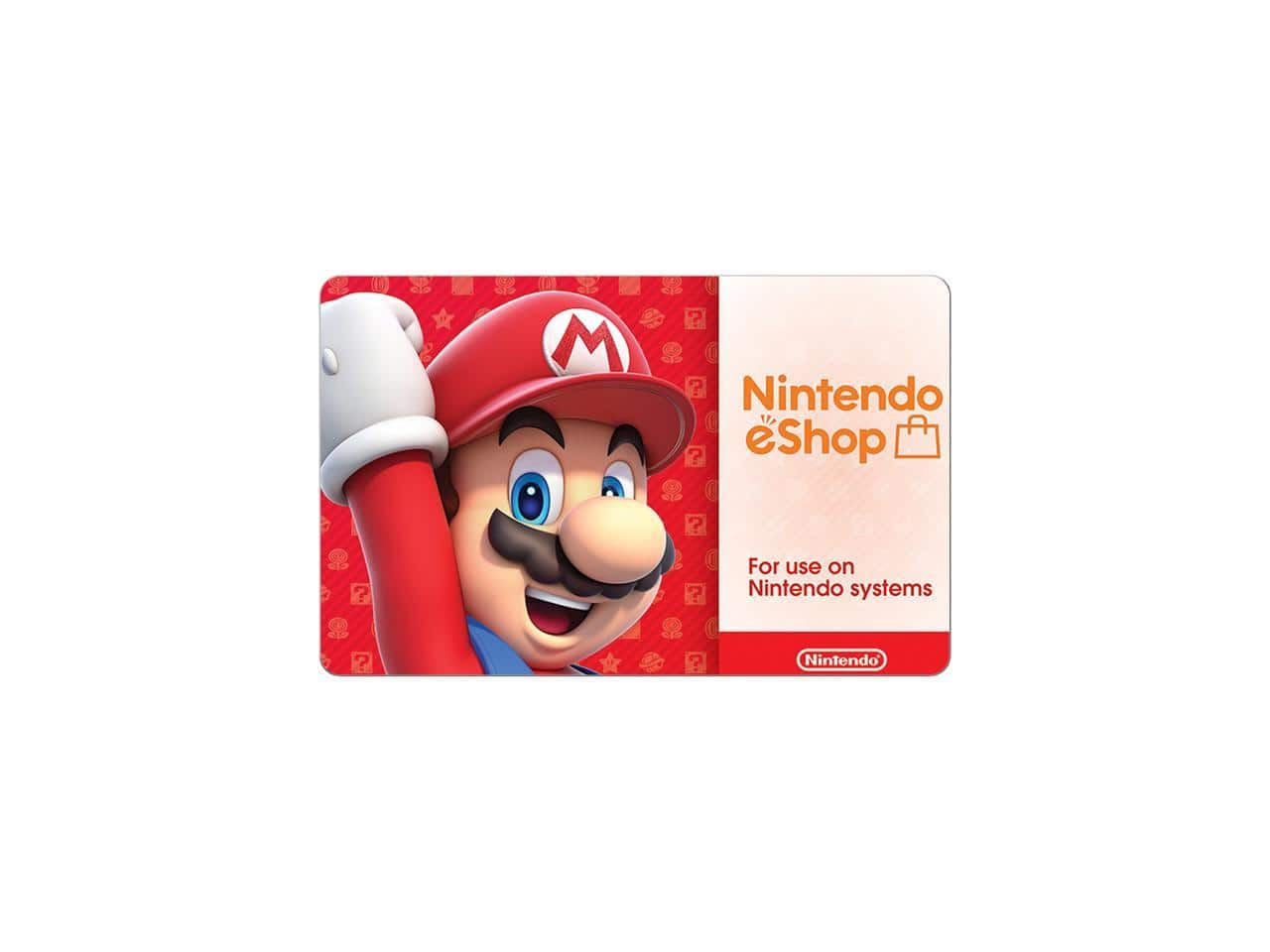 $50 Nintendo eShop Gift Card (Email Delivery) + $10 Newegg Promotional Gift Card for $50