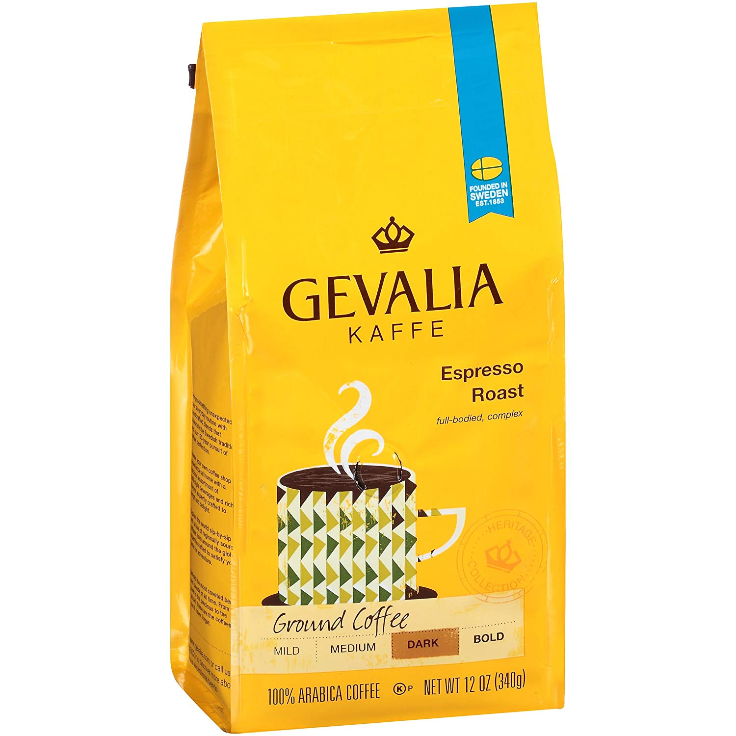 6-Pack 12oz. Gevalia Blend Ground Coffee (various flavors) from $23.74 w/ S&S + Free Shipping via Amazon
