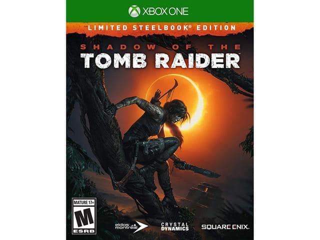 Shadow of the Tomb Raider: Limited Steelbook Edition (PS4 or Xbox One), Octopath Traveler (Nintendo Switch) $47.99 & More + Free Shipping